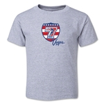USA Sevens Vegas Rugby Toddler T-Shirt (Gray)