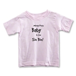 Nobody Puts Baby In the Sin Bin Toddler T-Shirt (Pink)