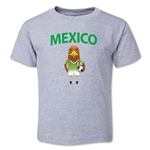 Mexico Animal Mascot Toddler T-Shirt (Grey)