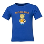 Netherlands Animal Mascot Toddler T-Shirt (Royal)