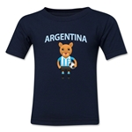 Argentina Animal Mascot Toddler T-Shirt (Navy)