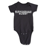 Birmingham Rugby Infant Onesie (Black)