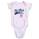 Chelsea The Blues Script Onesie (Pink)