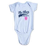 Chelsea The Blues Script Onesie (Sky)