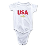 USA CONCACAF Gold Cup 2015 Infant Big Logo Onesie (White)
