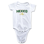Mexico CONCACAF Gold Cup 2015 Infant Big Logo Onesie (White)