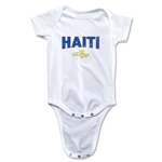 Haiti CONCACAF Gold Cup 2015 Infant Big Logo Onesie (White)