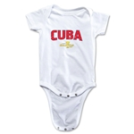 Cuba CONCACAF Gold Cup 2015 Infant Big Logo Onesie (White)