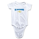 El Salvador CONCACAF Gold Cup 2015 Infant Big Logo Onesie (White)