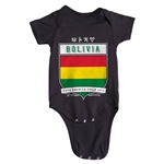 Bolivia Copa America 2015 Shield Infant Onesie (Black)