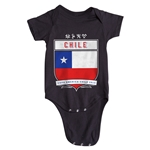 Chile Copa America 2015 Shield Infant Onesie (Black)