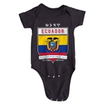 Ecuador Copa America 2015 Shield Infant Onesie (Black)