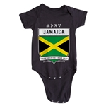 Jamaica Copa America 2015 Shield Infant Onesie (Black)