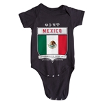 Mexico Copa America 2015 Shield Infant Onesie (Black)