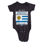 Uruguay Copa America 2015 Shield Infant Onesie (Black)