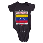 Venezuela Copa America 2015 Shield Infant Onesie (Black)