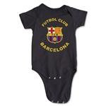 Barcelona Futbol Club Distressed Onesie (Black)