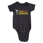 Germany FIFA U-20 Women's World Cup Canada 2014 Champions Onesie (Black)