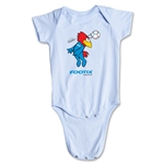 1998 FIFA World Cup Footix Mascot Onesie (Sky Blue)
