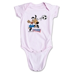 1994 FIFA World Cup Striker Mascot Logo Onesie (Pink)