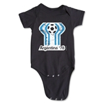 1978 FIFA World Cup Emblem Onesie (Black)