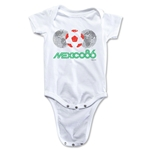 1986 FIFA World Cup Emblem Onesie (White)