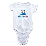 1998 FIFA World Cup Emblem Onesie (White)