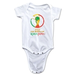 2002 FIFA World Cup Emblem Onesie (White)