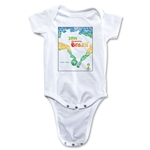 2014 FIFA World Cup Brazil(TM) Event Poster Onesie (White)