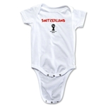 Switzerland 2014 FIFA World Cup Brazil(TM) Core Onesie (White)