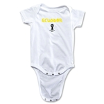 Ecuador 2014 FIFA World Cup Brazil(TM) Core Onesie (White)