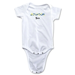 Ecuador 2014 FIFA World Cup Brazil(TM) Palm Onesie (White)