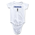 Colombia 2014 FIFA World Cup Infant Onesie