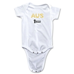 Australia 2014 FIFA World Cup Brazil(TM) Elements Onesie (White)