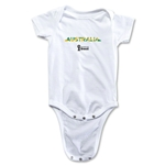 Australia 2014 FIFA World Cup Brazil(TM) Palm Onesie (White)