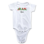 Iran 2014 FIFA World Cup Brazil(TM) Palm Onesie (White)