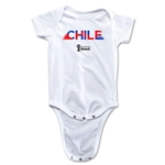Chile 2014 FIFA World Cup Brazil(TM) Palm Onesie (White)