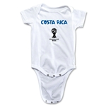 Costa Rica 2014 FIFA World Cup Brazil(TM) Core Onesie (White)