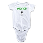 Mexico 2014 FIFA World Cup Brazil(TM) Core Onesie (White)