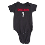 England 2014 FIFA World Cup Brazil(TM) Core Onesie (Black)