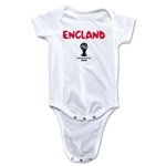 England 2014 FIFA World Cup Brazil(TM) Core Onesie (White)