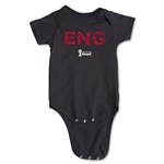 England 2014 FIFA World Cup Brazil(TM) Elements Onesie (Black)