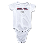 England 2014 FIFA World Cup Brazil(TM) Palm Onesie (White)