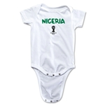Nigeria 2014 FIFA World Cup Brazil(TM) Core Onesie (White)