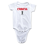 Croatia 2014 FIFA World Cup Brazil(TM) Core Onesie (White)
