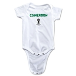 Cameroon 2014 FIFA World Cup Brazil(TM) Core Onesie (White)