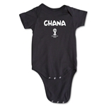 Ghana 2014 FIFA World Cup Brazil(TM) Core Onesie (Black)