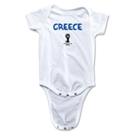Greece 2014 FIFA World Cup Brazil(TM) Core Onesie (White)