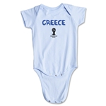 Greece 2014 FIFA World Cup Brazil(TM) Core Onesie (Sky)