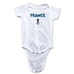France 2014 FIFA World Cup Brazil(TM) Core Onesie (White)